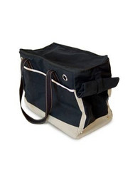 Black Canvas Dog Tote