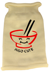"""Miso Cute"" Knit Sweater (Various Colors)"