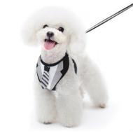 Tuxedo Necktie Dog Harness