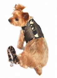 Camo Cool Mesh Velcro Harness with Matching Leash