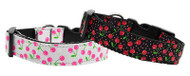 Cherries Nylon Dog Collar
