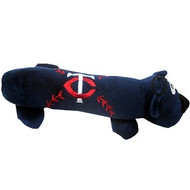 Minnesota Twins Tube Dog Toy
