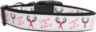 Save a Rack Nylon Ribbon Dog Collar