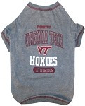 Virginia Tech Hokies Dog Shirt
