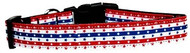 Stars and Hearts Nylon Dog Collar