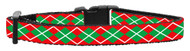 Christmas Argyle Dog Collar