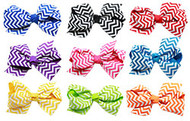 Chevron Bow (Various Colors)