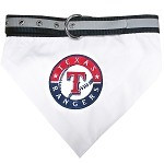 Texas Rangers Dog Bandana Collar