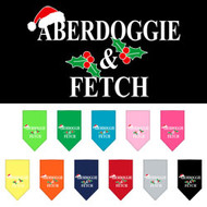 Aberdoggie & Fetch Dog Christmas Bandana