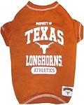 Texas Longhorns Dog Shirt
