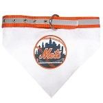 New York Mets Dog Bandana Collar