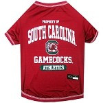 South Carolina Gamecocks Dog Shirt