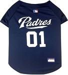 San Diego Padres Baseball Dog Jersey