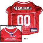 San Francisco 49ers Dog Jersey