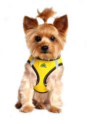 Vibrant Yellow Top Stitch American River Choke Free Dog Harness