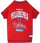 Philadelphia Phillies Baseball Dog Shirt