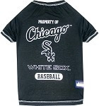 Chicago White Sox Baseball Dog Shirt