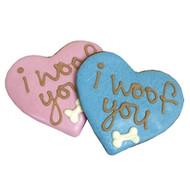 Woof Hearts Dog Treats - Set of 12