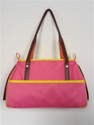 Petote Charlie Pink Dog Bag