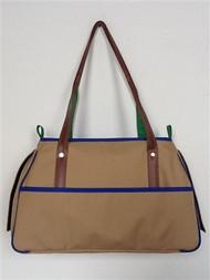 Petote Charlie Khaki Dog Bag