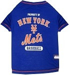 New York Mets Baseball Dog Shirt