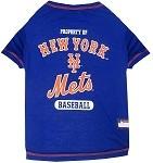 New York Mets Baseball Dog Shirt