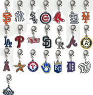 MLB Dog Collar Logo Charms