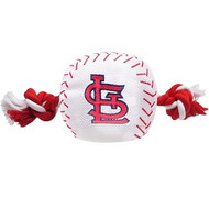 St. Louis Cardinals Baseball Rope Dog Toy