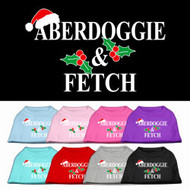 Aberdoggie & Fetch Dog T-Shirt