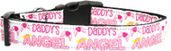 Daddy's Angel Dog Collar