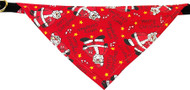 Red Santa Bandana Dog Collar