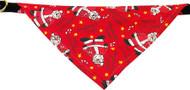Red Santa Bandana Dog Collar