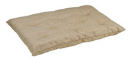 Flax Tufted Dog Cushion