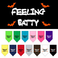Feeling Batty Dog Bandana-Choose Your Color!