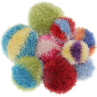 Furry Ball Dog Toy Large