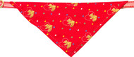 Teddy Bear Bandana Dog Collar