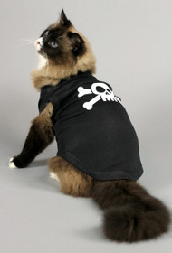 Skull & Crossbones Cat Shirt