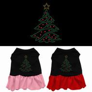Christmas Tree Dog Dress