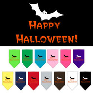 Happy Halloween Dog Bandana-Choose Your Color!