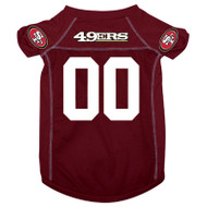 San Francisco 49ers Dog Jersey 1