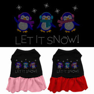 Let It Snow Dog Dress