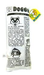 Krinkle Squeak Dog Newspaper