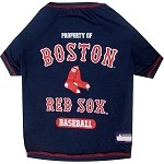 Boston Red Sox Baseball Dog Shirt