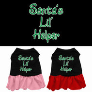 Santa's Lil' Helper Dog Dress