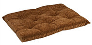 Pecan Tufted Dog Cushion