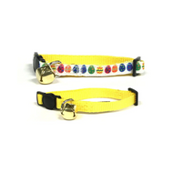 Midlee Easter Egg Cat Collar Set with Safety Buckle
