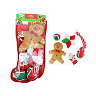 Midlee Toy Filled Christmas Dog Stocking Gift Set