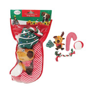 Midlee Dog Christmas Stocking Filled with Toys