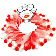Mirage Pet Products Candy Cane Fuzzy Wuzzy Smoocher Medium .