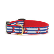 Up Country Anchors Aweigh Dog Collar, Medium